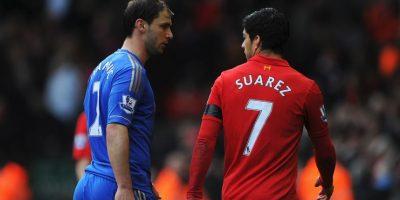 El uruguayo había mordido antes a Branislav Ivanovic, en un duelo entre Liverpool y Chelsea Foto:Getty Images