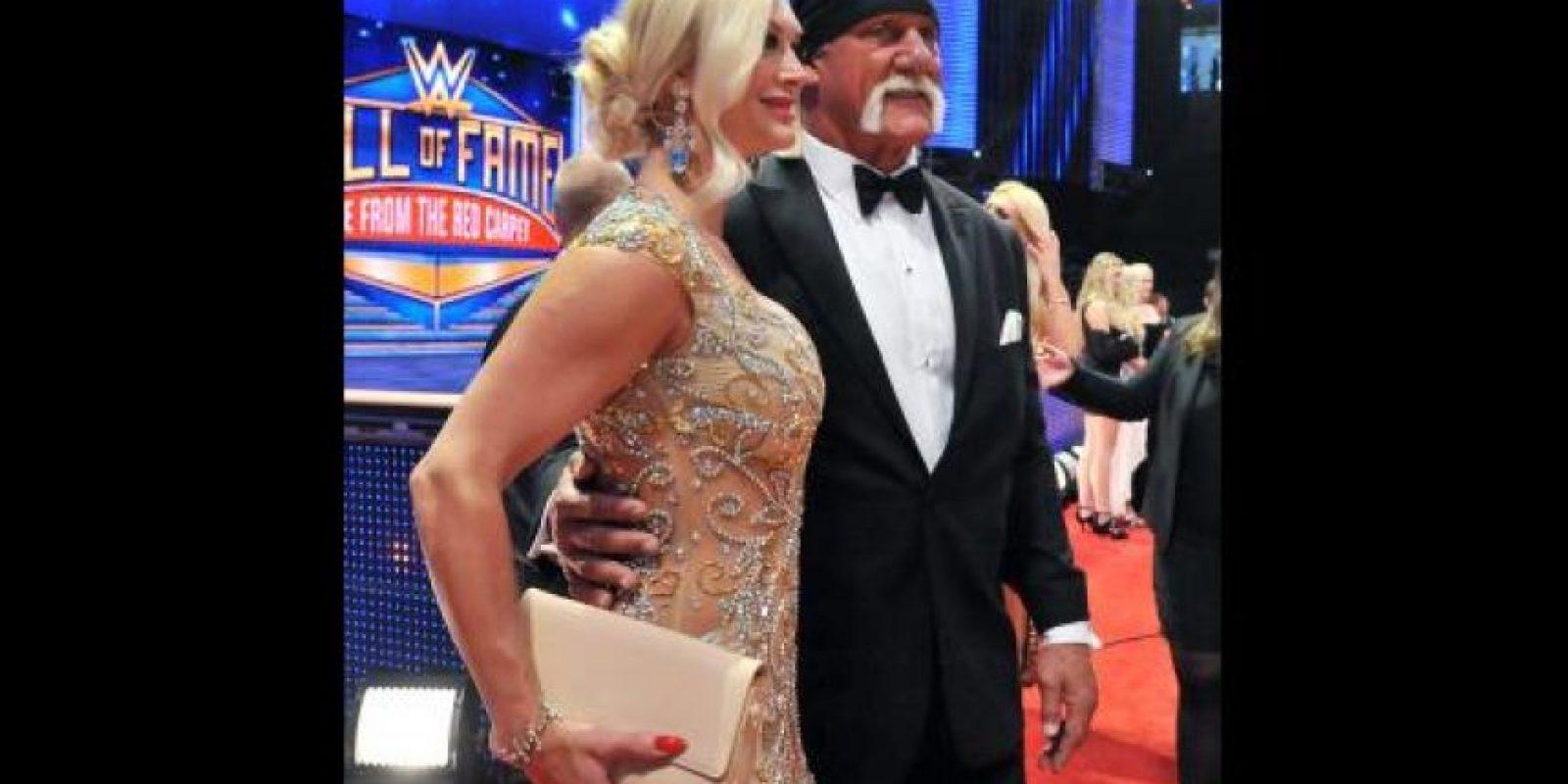 Hulk Hogan y su esposa Jennifer McDaniel Foto:WWE