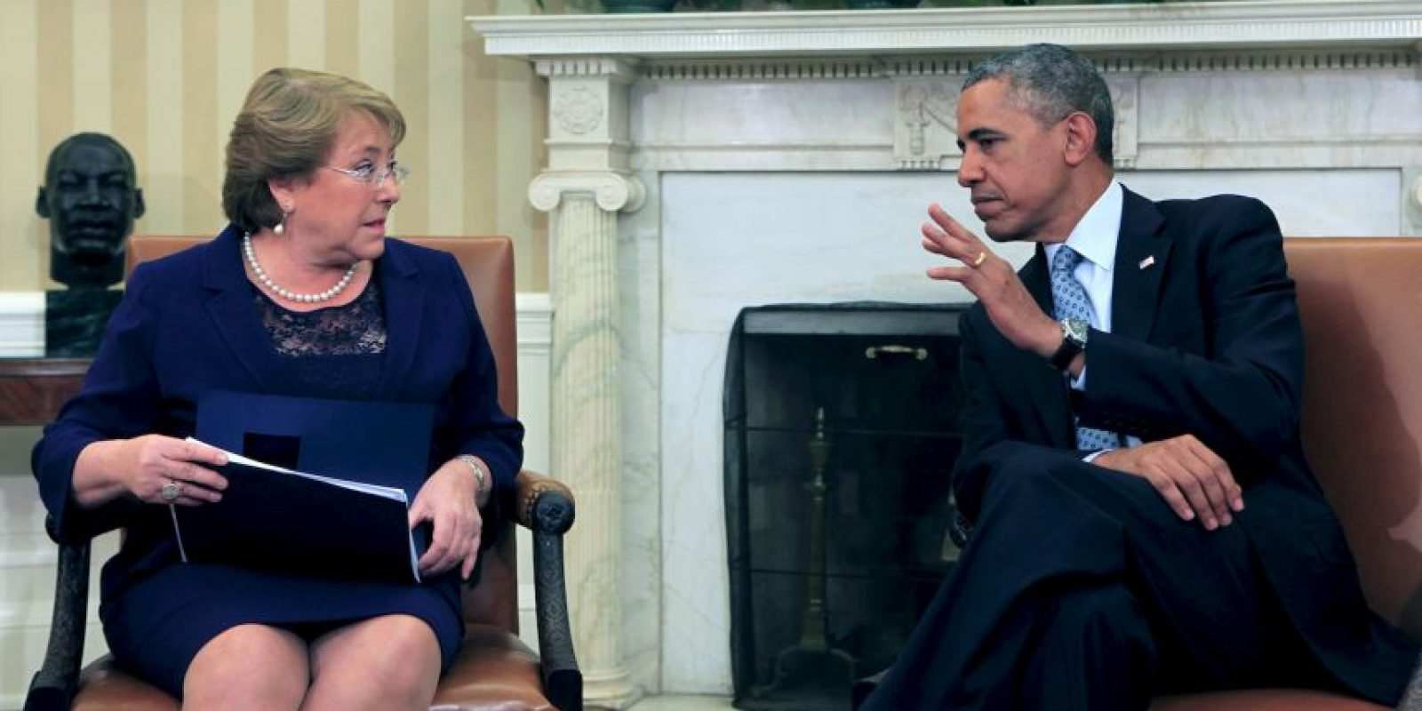 De acuerdo a diversos medios, se reunirá con la presidenta de Chile, Michelle Bachelet Foto:Getty Images