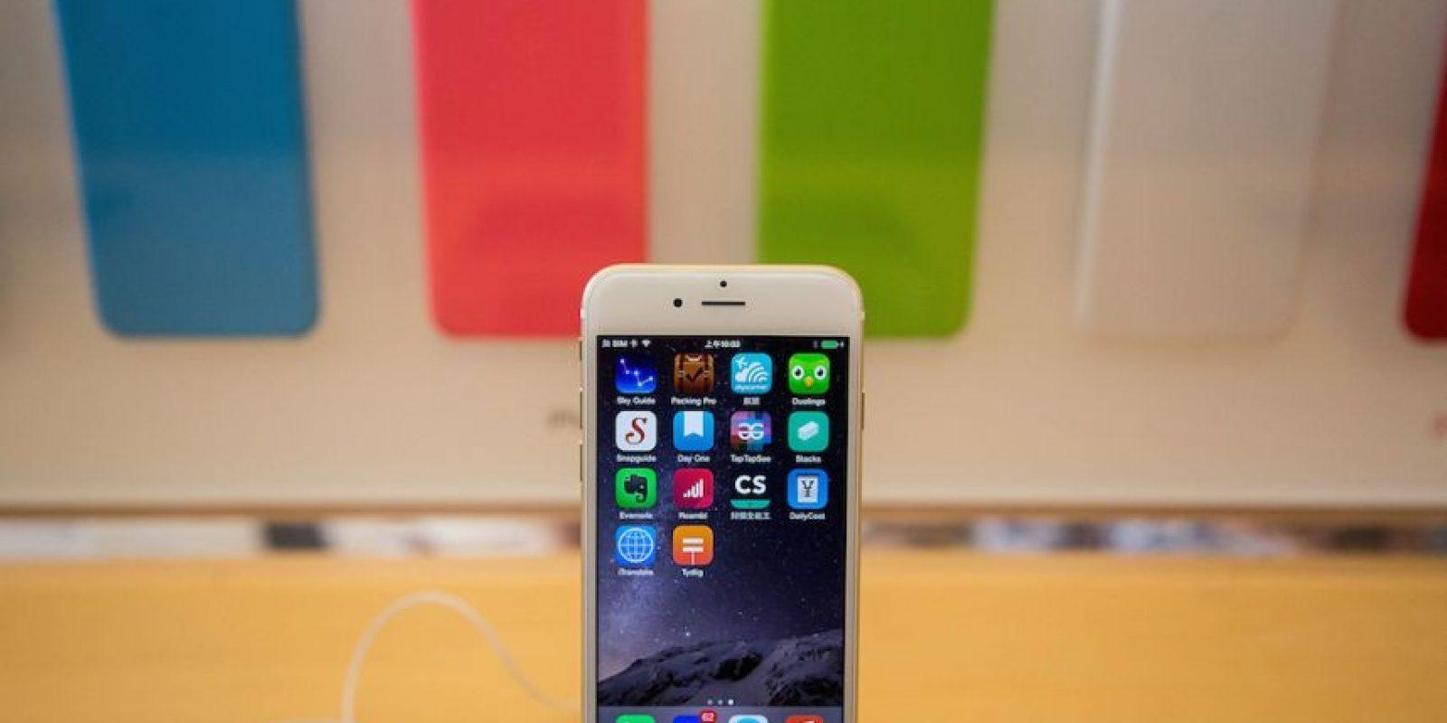 Force Touch: Una pantalla que sea sensible a la presión para obtener mejores funciones y acciones en el dispositivo. Foto:Getty Images