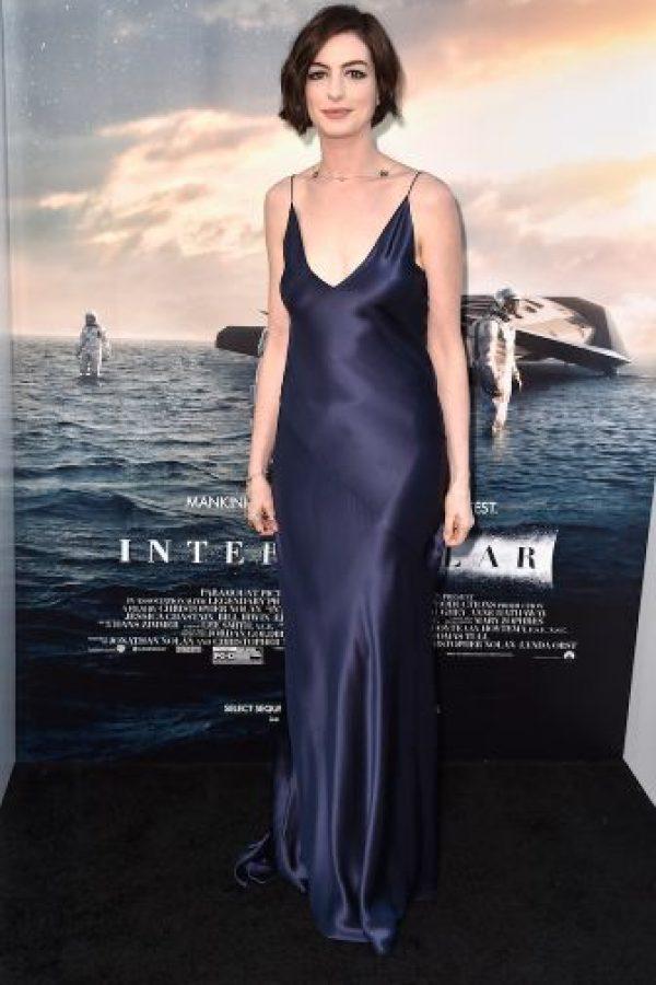 Anne Hathaway es una actriz estadounidense. Foto:Getty