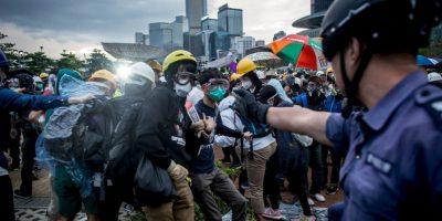 8. Las protestas duraron meses. Foto:Getty