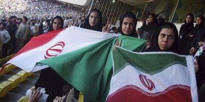 Mujeres iraníes asisten a partidos de fútbol en otros países. Foto:Getty Images