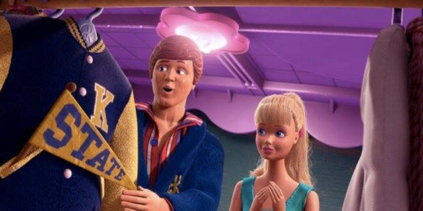 """Keaton prestó su voz a """"Ken"""" de la cinta animada """"Toy Story 3"""" Foto:Vía facebook.com/toystory"""