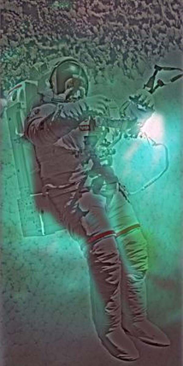¿Un astronauta o un buzo? Foto:mit.edu – Aude Oliva