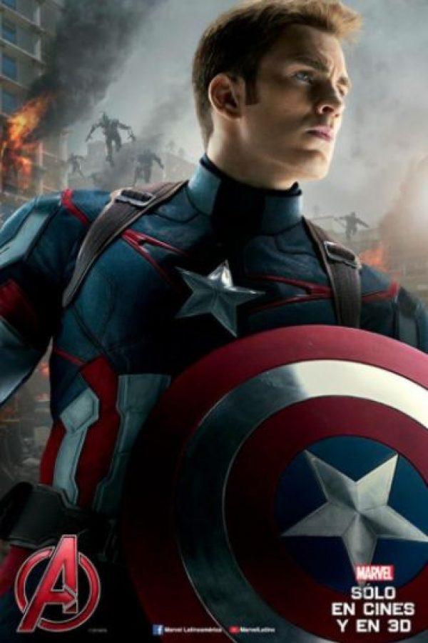 """""""Capitán América"""" Foto:Facebook Avengers"""
