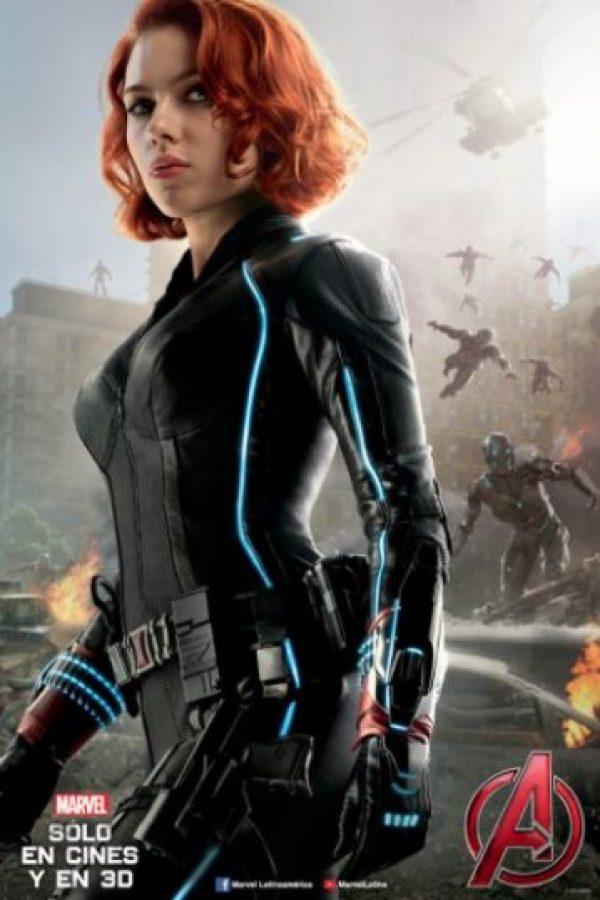 """La Viuda Negra"" Foto:Facebook Avengers"