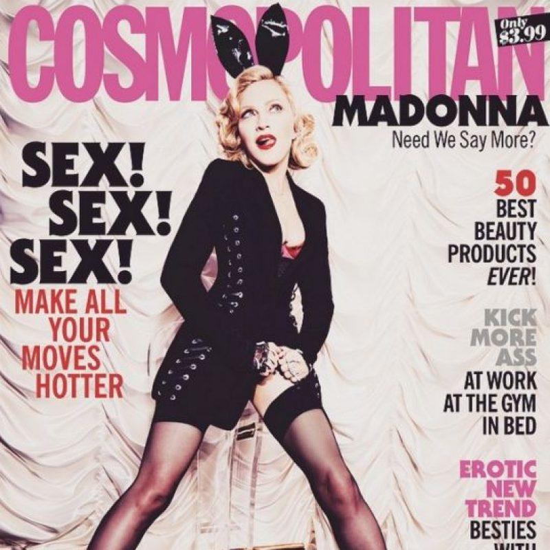 La primera vez que apareció en la portada de la revista fue en 1990. Foto:Vía Instagram/madonna
