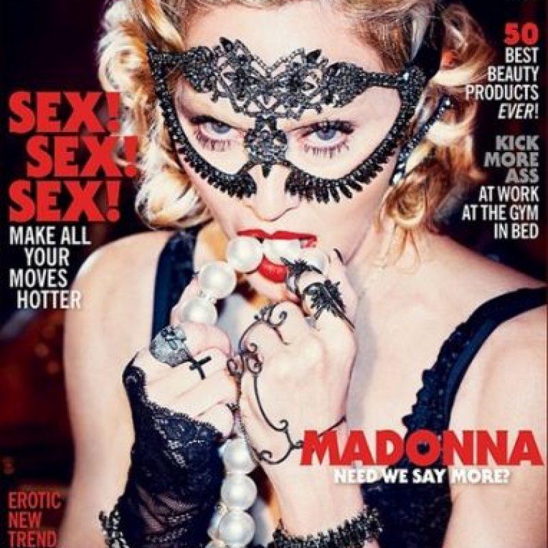 25 años después engalana nuevamente la portada de la revista. Foto:Vía Instagram/madonna