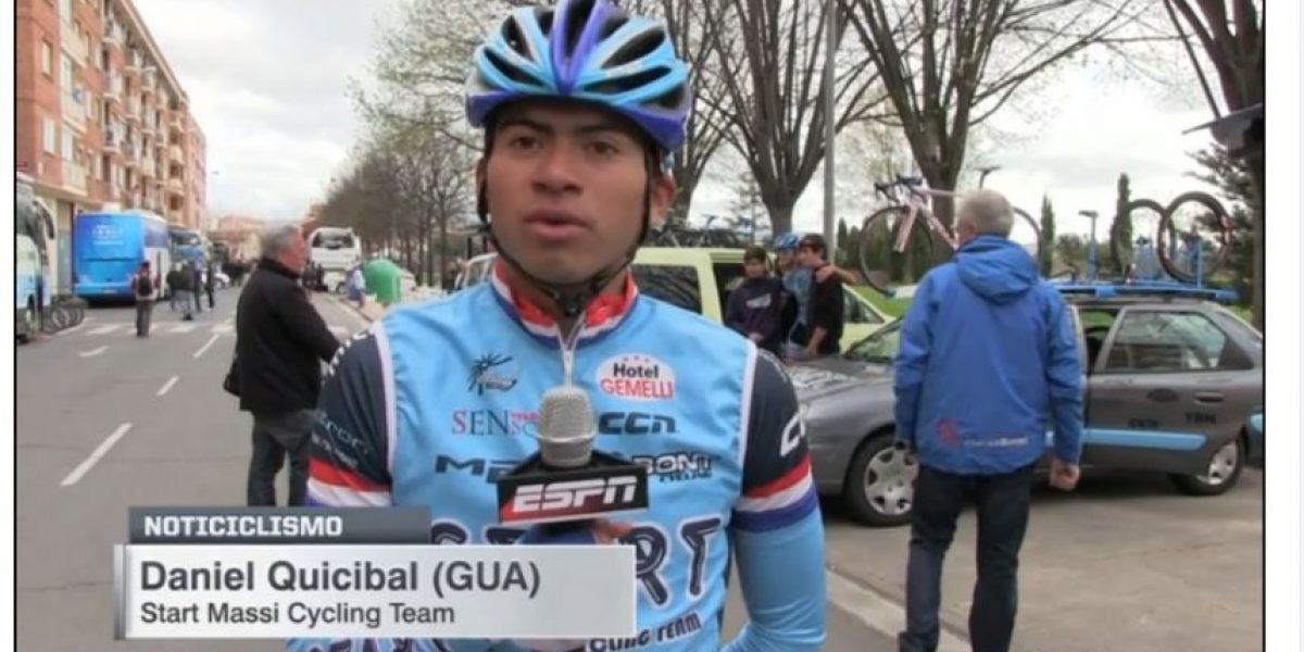 Ciclista nacional fue uno de los mejores latinos en España dice ESPN