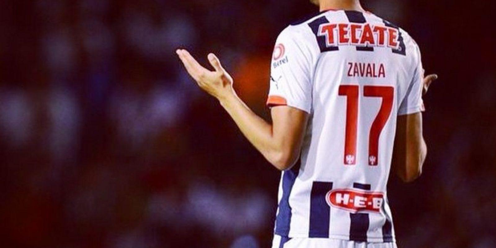 Zavala mostró el daño en las redes sociales Foto:Via twitter.com/jzavala17