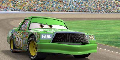 """Interpretó a """"Chick Hicks"""", uno de los enemigos del """"Rayo McQueen"""" Foto:Vía facebook.com/PixarCars"""