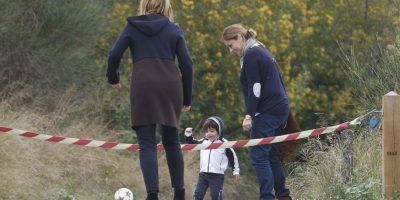 El pequeño es fan del fútbol Foto:Grosby Group