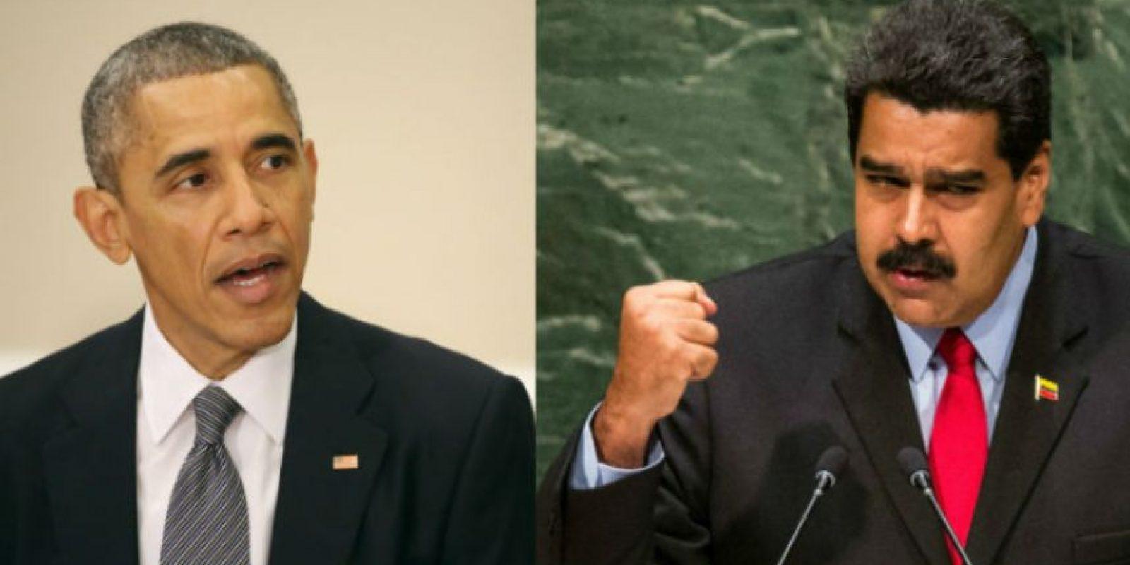 """Será también el primer encuentro de los presidentes después de que Obama considerara """"amenaza extraordinaria"""" a Venezuela Foto:Getty Images"""