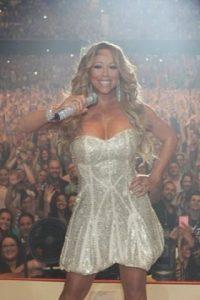 Mariah también popularizó el bronceado. Foto:Instagram