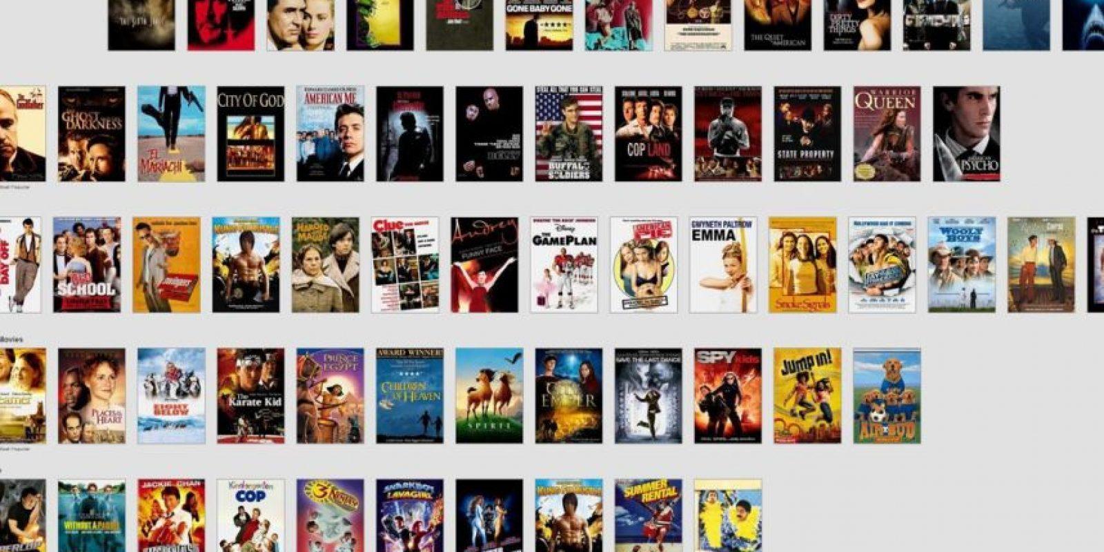"""Netflix tiene 76 mil categorías. Hay cosas como """"Bigotes Cool"""". Foto:Netflix"""