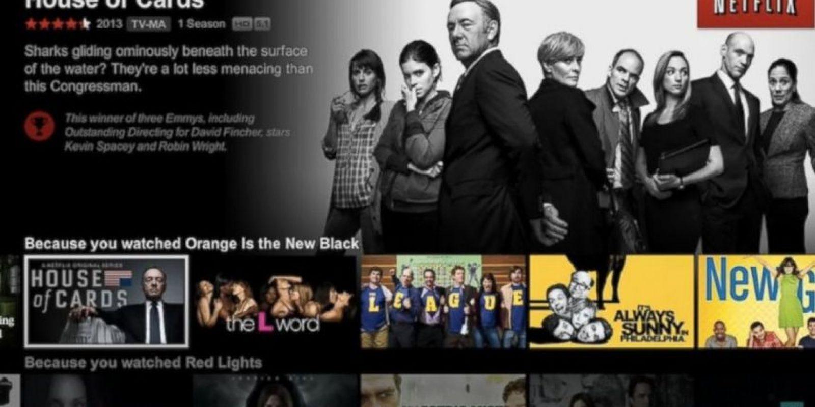 Netflix ha durado más tiempo que Google. Este fue fundado en 1997 y el buscador le siguió un año después. Foto:Netflix