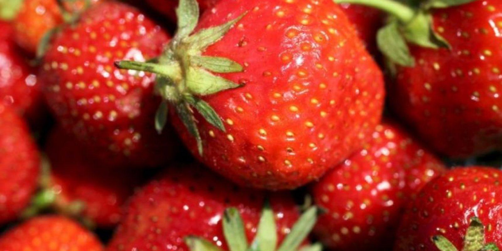 1. Fresa o frutillas Foto:Getty Images