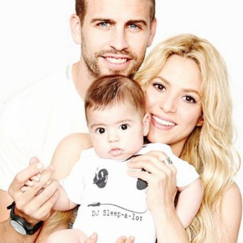 Recordemos que desde bebé fue socio del club Barcelona Foto:Instagram Shakira