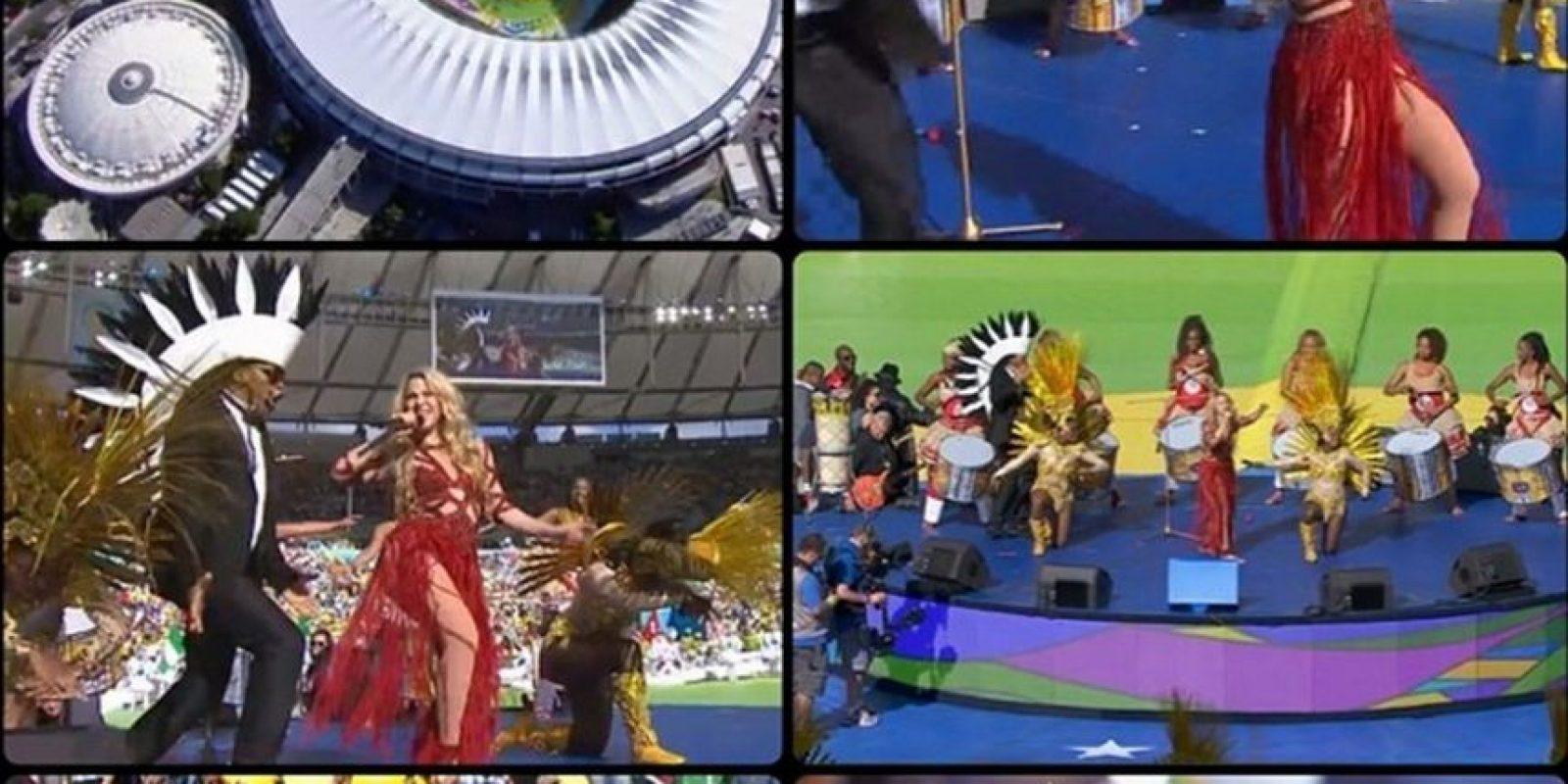 Milan acompañó a su mamá en la clausura del Mundial de Brasil Foto:Instagram Shakira