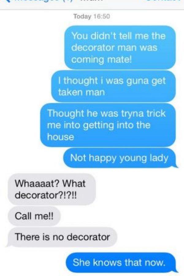 Lily Sharp le jugó una pesada broma a su madre Foto:Vïa Twitter: @_LilySharp