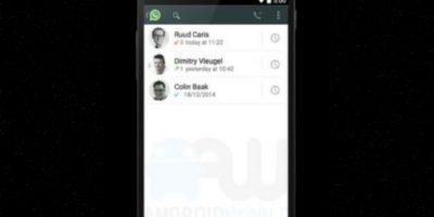 Para tenerlas tienen que actualizar la versión para Android. Foto:Android World