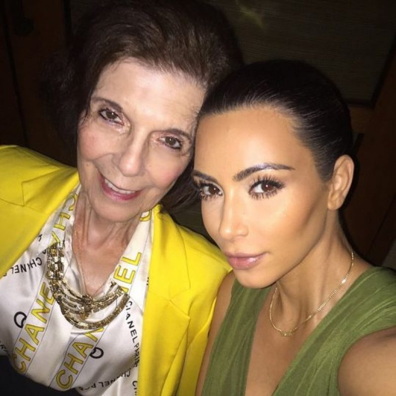 Pero poco conocen a la abuela de Kim Foto:Vía instagram.com/kimkardashian/