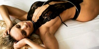 FOTOS: Miss Bum Bum causa polémica al posar desnuda con la imagen de la Virgen
