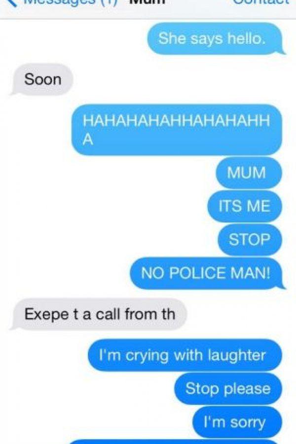 Fue una cruel broma para su madre. Foto:Vïa Twitter: @_LilySharp