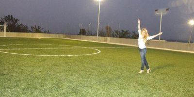 Shakira también ha demostrado su gusto por el fútbol Foto:Instagram Shakira