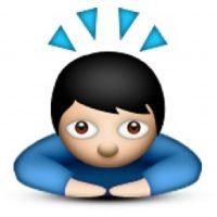 Esta posición se utiliza para mostrar respeto reverencial. Foto:WhatsApp