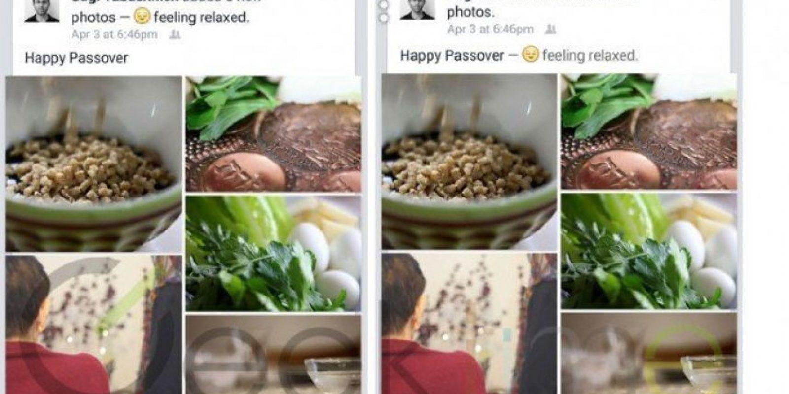 Hoy les informamos, gracias a imágenes filtradas de la nueva versión de Facebook para móviles, que probablemente WhatsApp se integre como un botón en esta red social. Foto:Geektime
