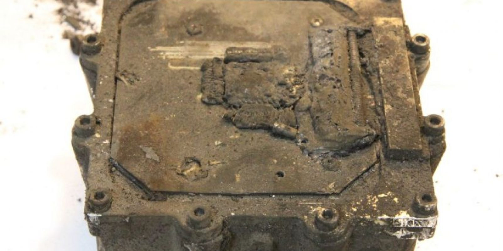 La semana pasada se encontró la segunda caja negra, la cual será utilizada para avanzar en las investigaciones Foto:AFP