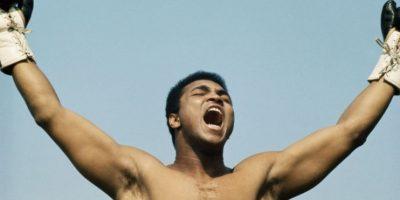 """""""¿Cuánto mides? Tengo que saber de antemano cuánto retroceder para cuando te caigas"""", Muhammad Ali Foto:Getty Images"""