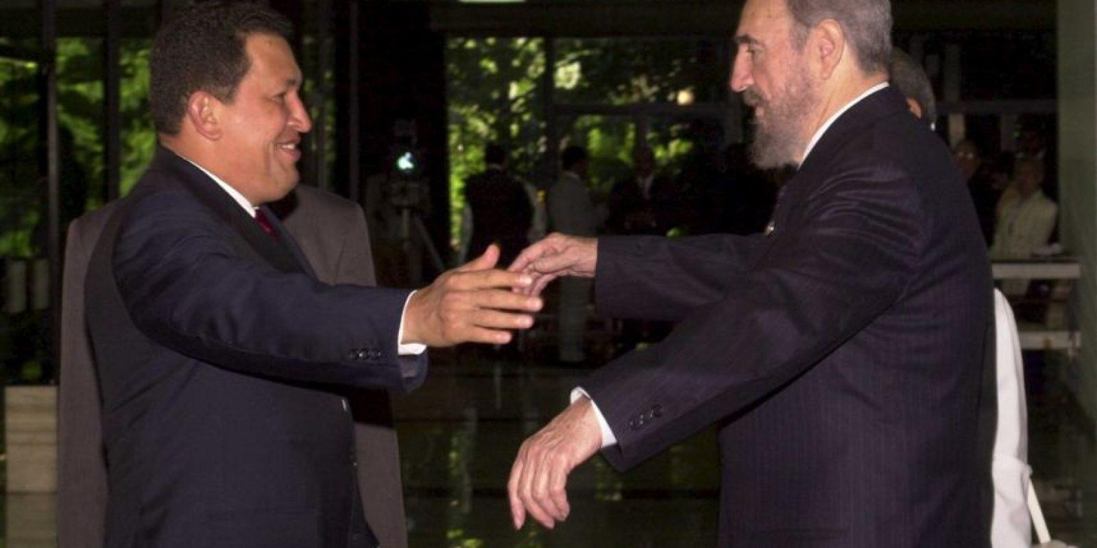 Aunque en el audio se escucha que el mandatario mexicano le pide que sea una llamada privada, las grabaciones fueron filtradas a los medios y el escándalo se apoderó del hecho. Fue la situación que tensó las relaciones de México y Cuba durante ocho años. Foto:Getty Images