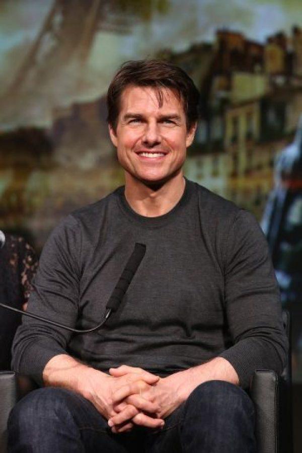 Tom Cruise es un actor estadounidense. Foto:Getty