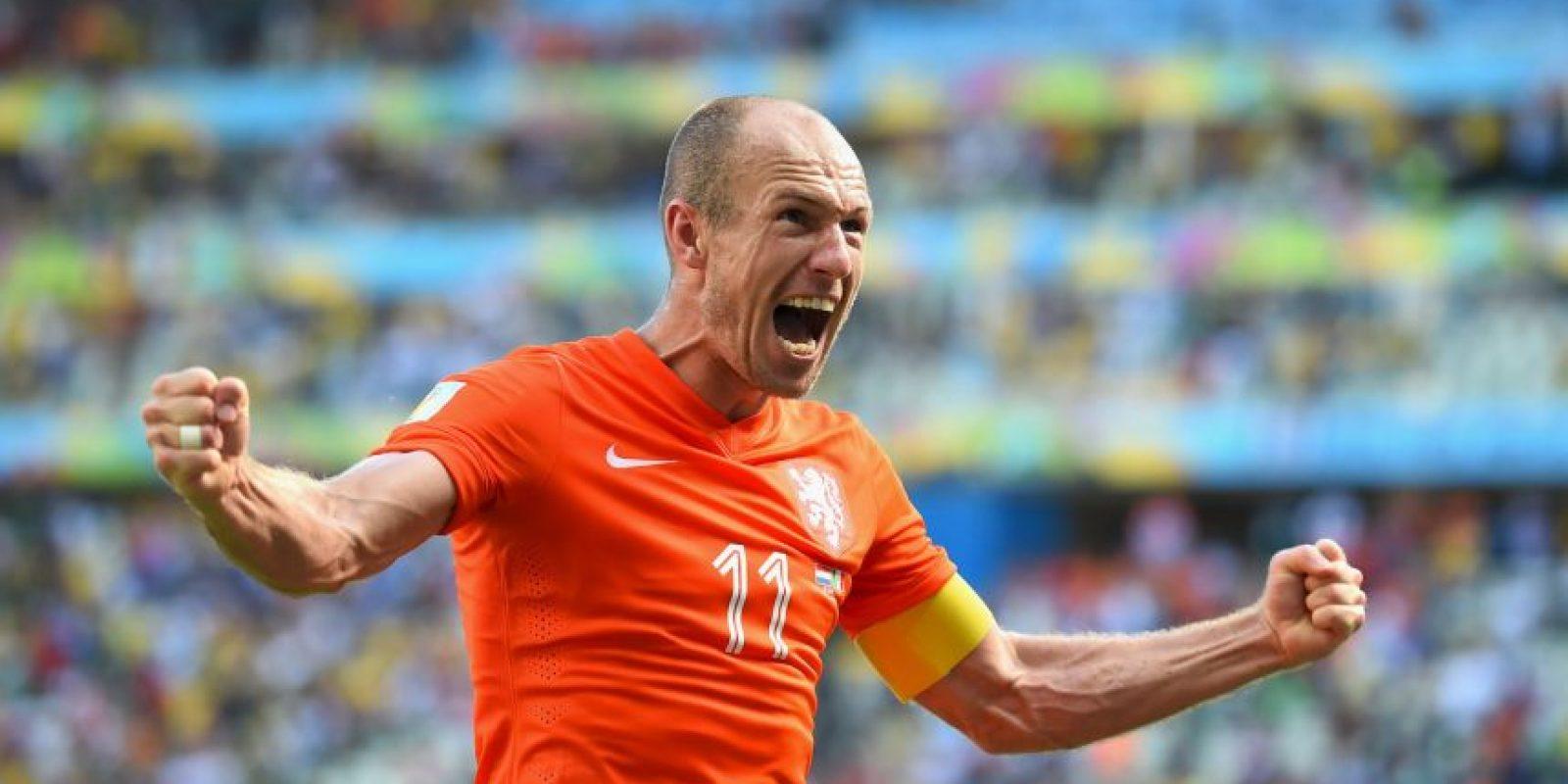 """""""Los atacantes tienen que ser egoístas en el campo… el egoísmo es una cualidad necesariamente mala"""", Arjen Robben Foto:Getty Images"""
