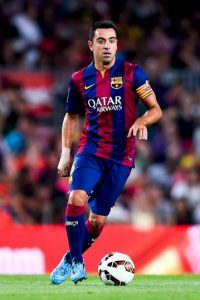 Medio: Xavi Hernández (Barcelona) Foto:Getty Images