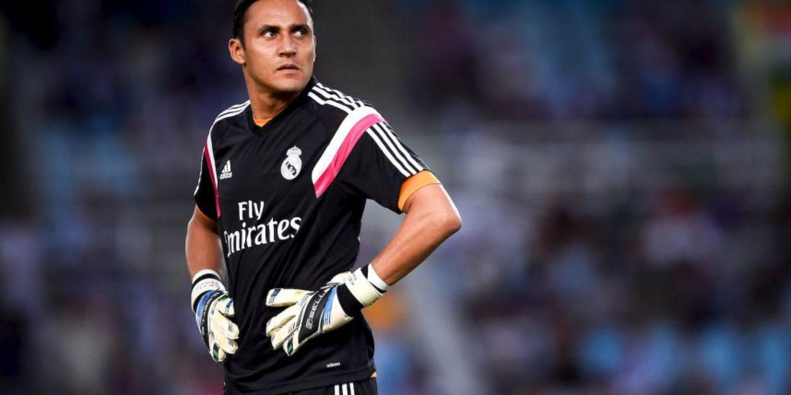 Portero: Keylor Navas (Real Madrid) Foto:Getty Images