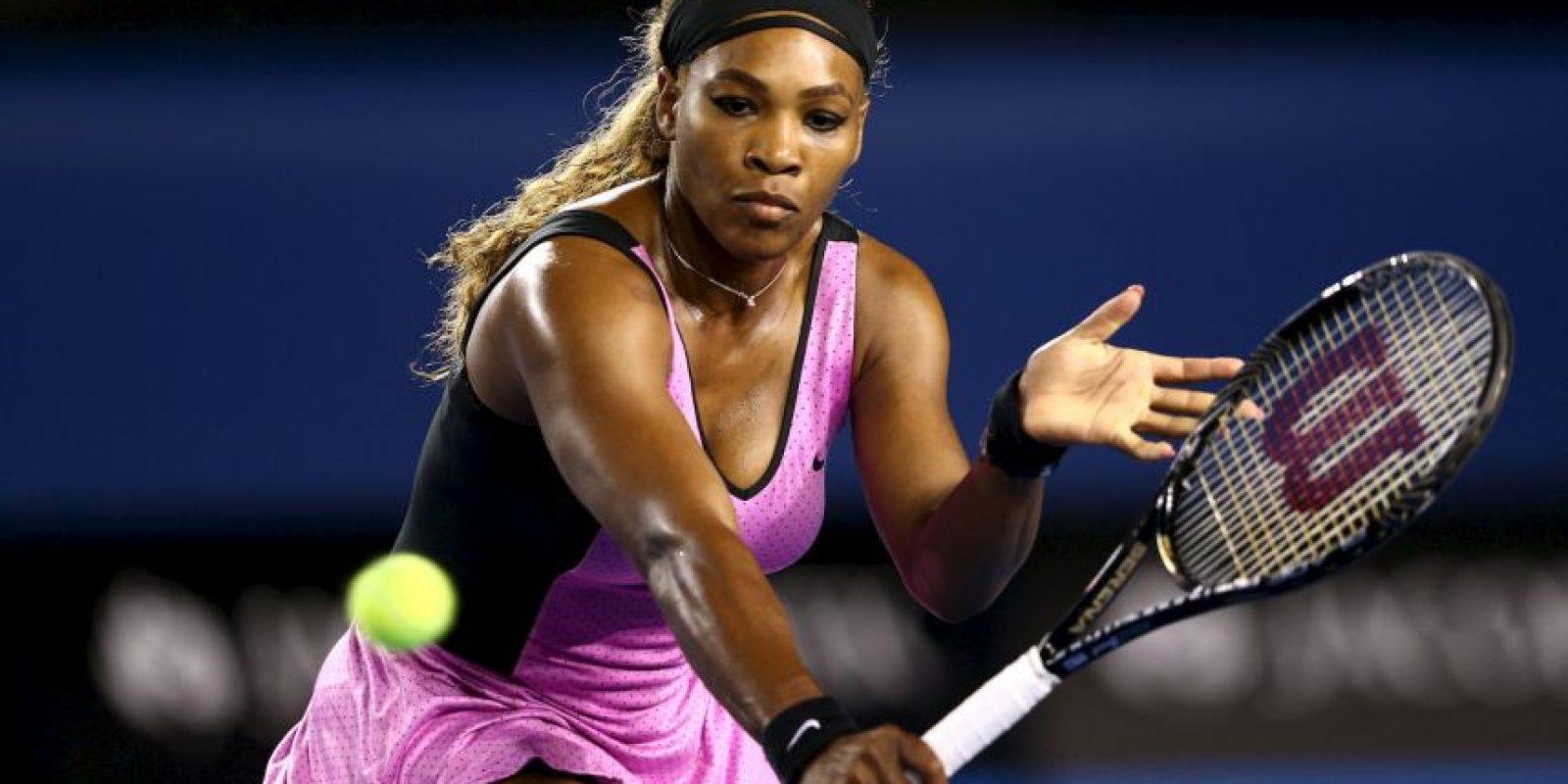 """""""Fue una lucha por aceptarme a mi misma y a mis curvas, porque ninguna atleta tiene los senos como los míos"""" Foto:Getty Images"""