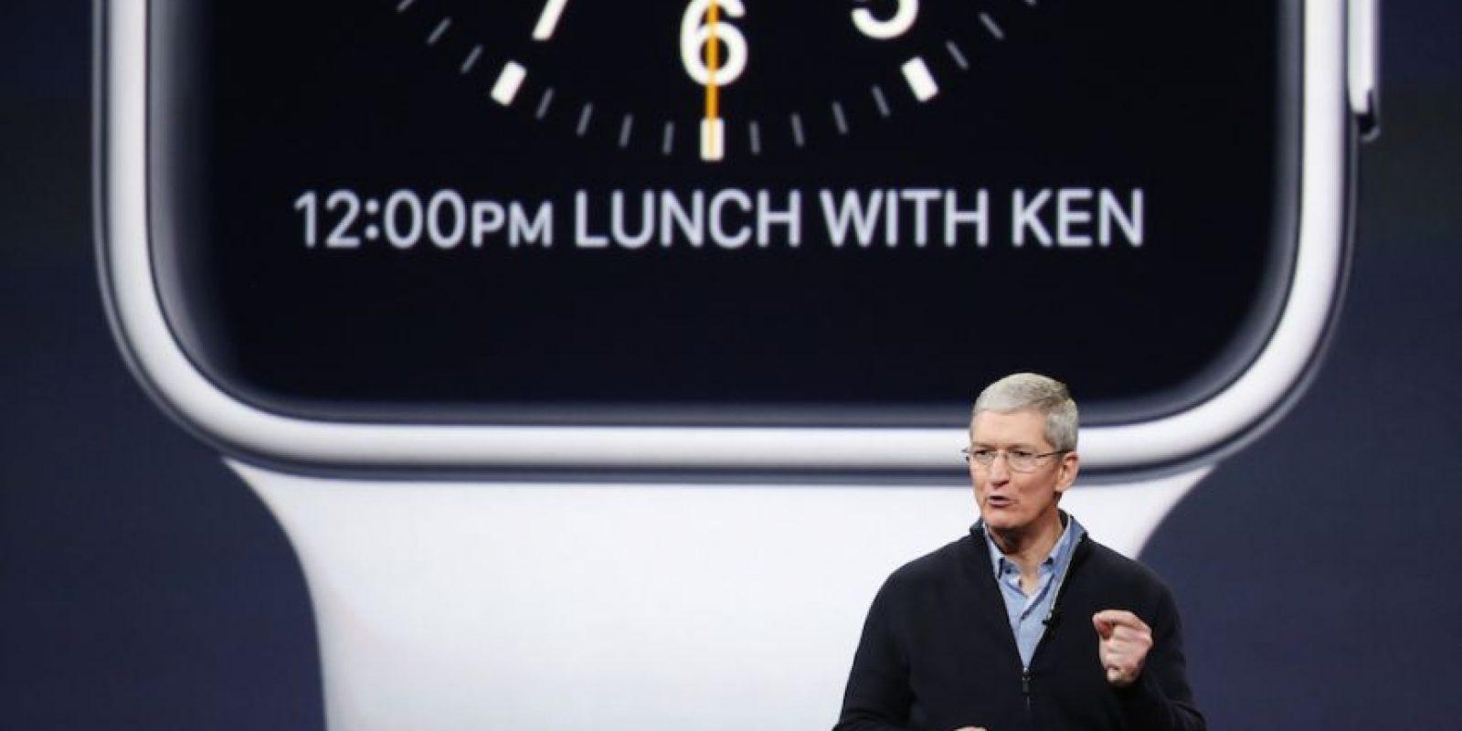 Tim Cook, CEO de Apple, se dirigió a sus empleados de todo el mundo. Foto:Getty Images