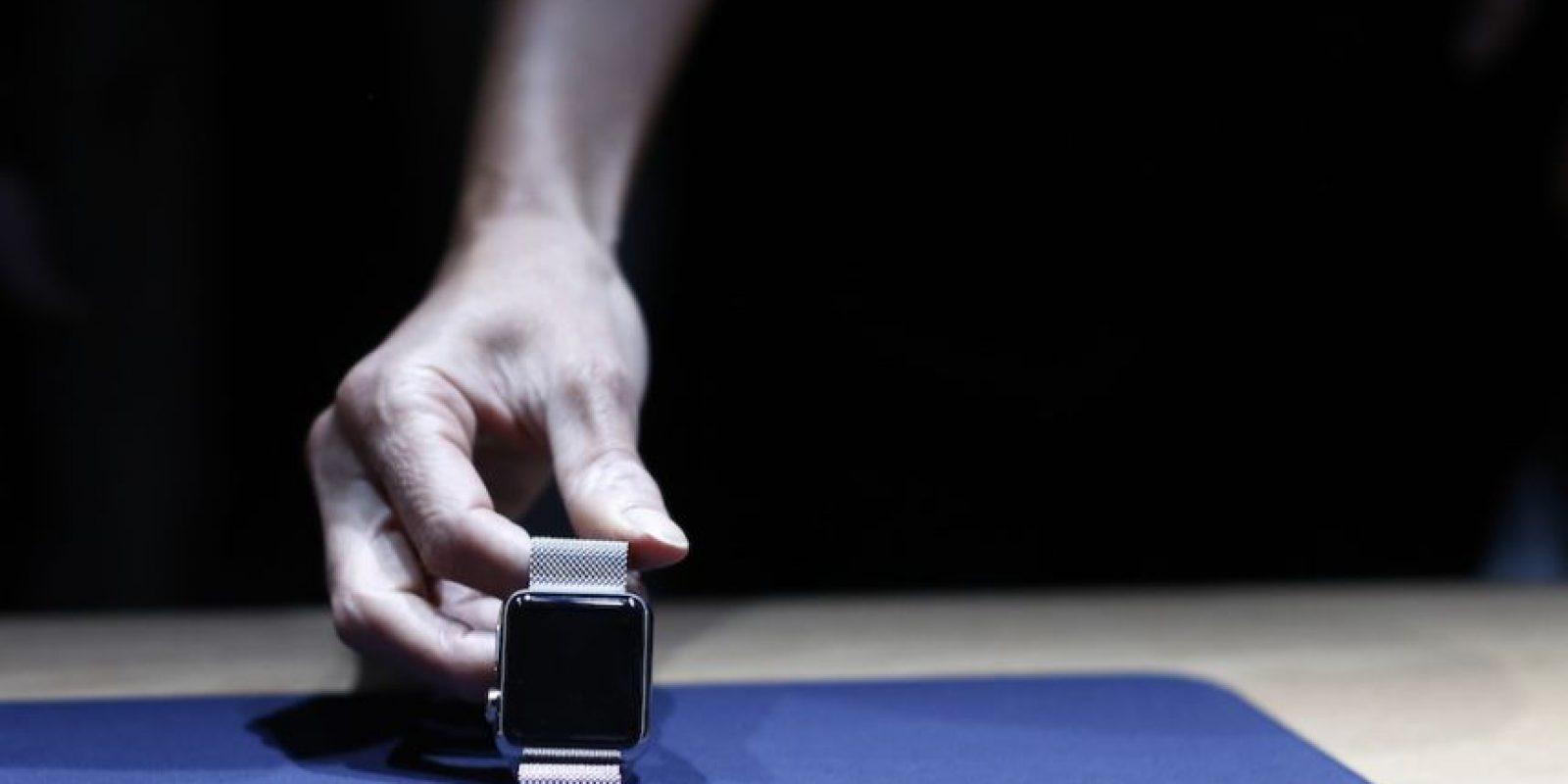"""Afirmó que """"algunos de los desarrolladores más innovadores en el mundo están trabajando en nuevas experiencias para el Apple Watch"""". Foto:Getty Images"""