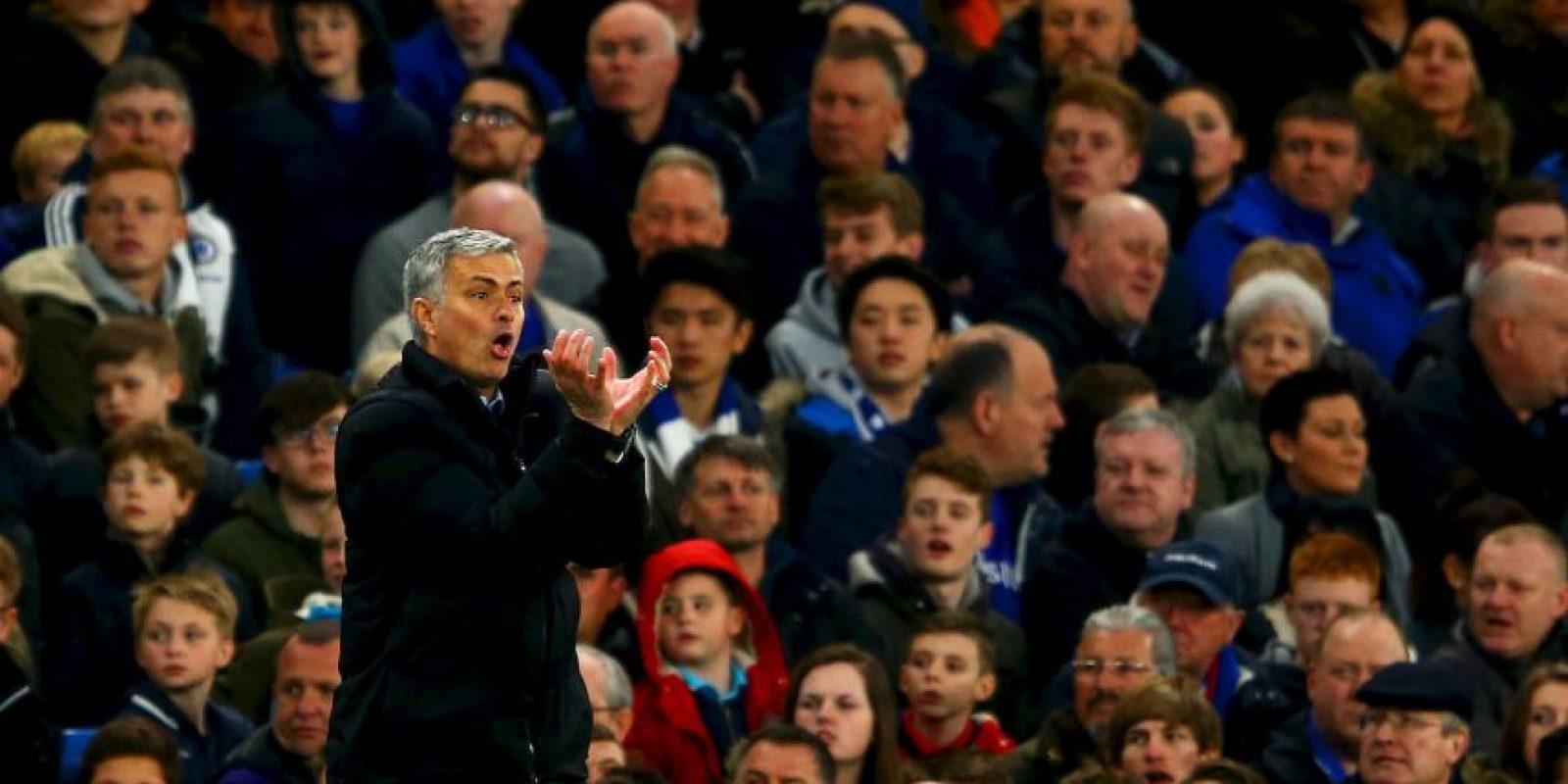 """""""No soy arrogante, solo soy campeón de Europa y creo que eso me hace especial"""", dijo José Mourinho a su llegada al Chelsea Foto:Getty Images"""