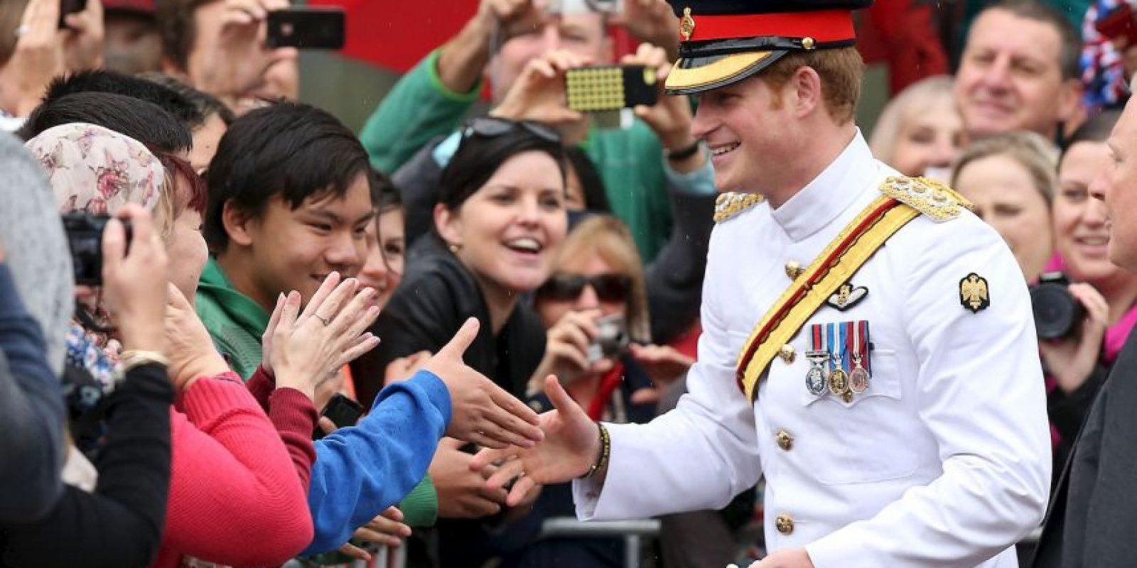 El príncipe Harry ocupa el cuarto lugar en la línea de sucesión de la reina Isabel II. Foto:Getty Images