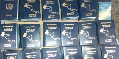 Denuncia de la embajada de Estados Unidos permite la incautación de 400 pasaportes falsos