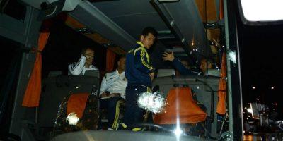 El ataque sucedió después del partido entre el Fenerbahçe y el Rizespor. Foto:AFP