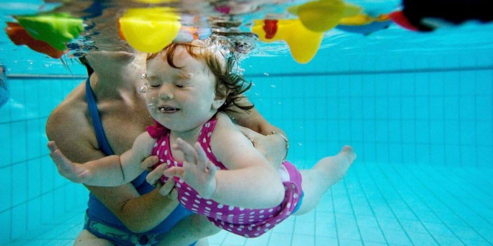 La temperatura del agua debe oscilar entre 31 y 32 grados centígrados Foto:Getty Images
