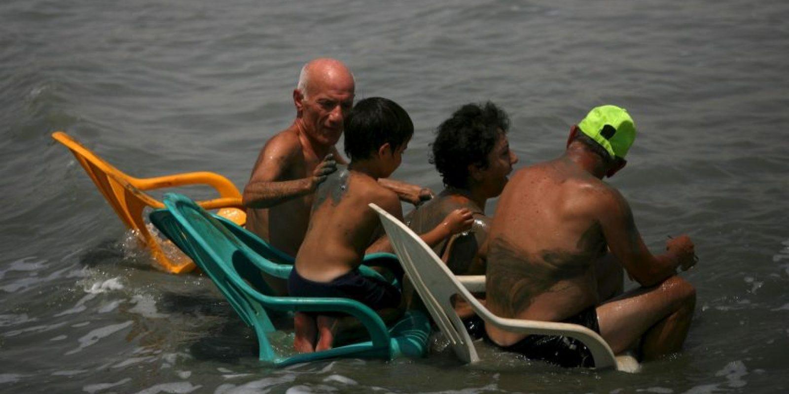 ¿Cuándo enseñar a nadar a un niño? Foto:Getty Images