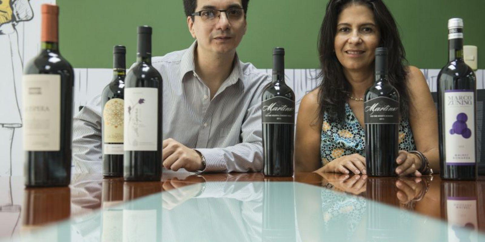 Walter González y Zully Orellana son de la importadora La Bohemia y buscan transmitir sus experiencias con el vino alrededor del mundo a los guatemaltecos Foto:Oliver De Ros