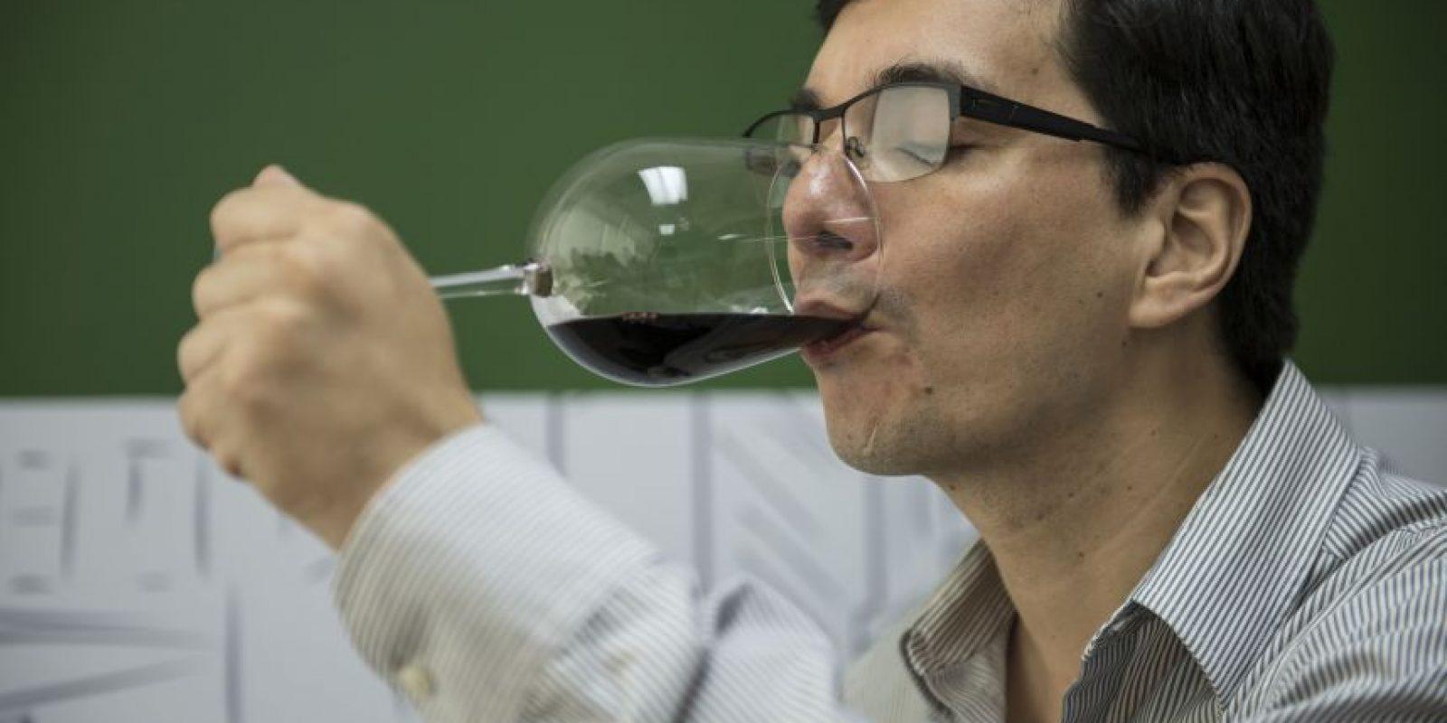 Walter y Zully han viajado a diversos países productores de vino alrededor del mundo Foto:Oliver De Ros